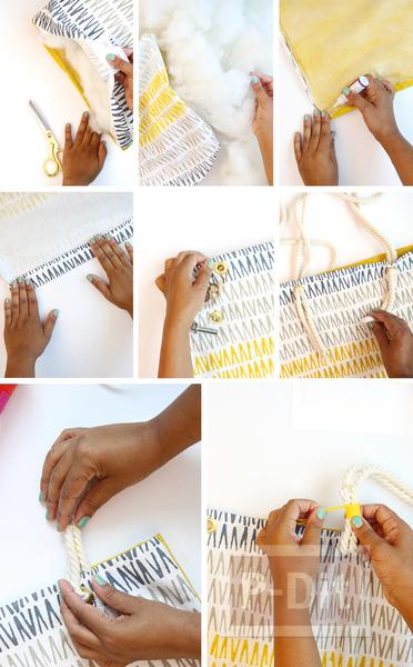 รูป 4 กระเป๋าถือลายสวย ทำจากปลอกหมอนเก่าๆ