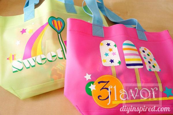 รูป 6 ที่ห้อยกระเป๋าสวยๆ ทำจากกระดาษสีสดใส