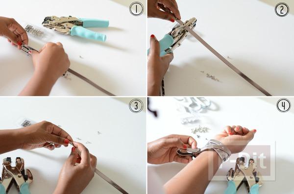 รูป 3 สอนทำสร้อยข้อมือ จากเข็มขัดเส้นเล็กๆ