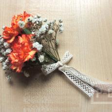 สอนจัดช่อดอกไม้ สวยๆ ผูกริบบิ้น