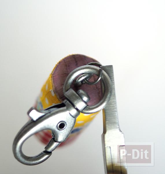 รูป 5 พวงกุญแจไม้ก็อกสวยๆ ประดับสก็อตเทปลายน่ารัก