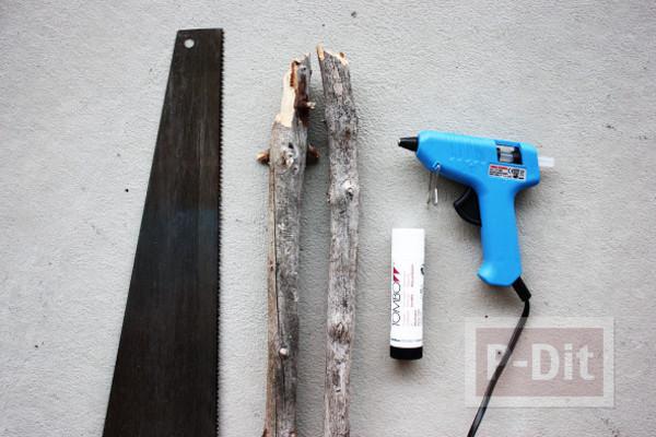 รูป 2 สอนทำกรอบรูป จากท่อนไม้เก่าๆ