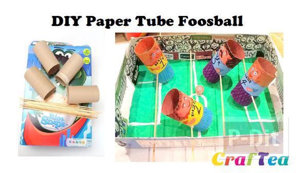 รูป 2 ทำของเล่น จากแกนกระดาษทิชชู