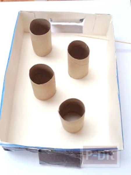 รูป 4 ทำของเล่น จากแกนกระดาษทิชชู