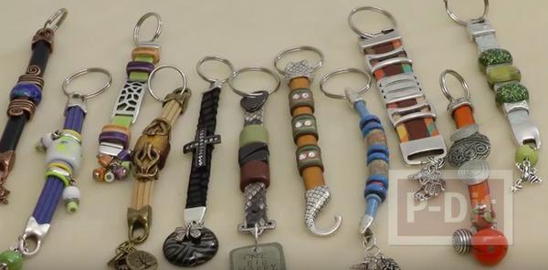 ไอเดียทำพวงกุญแจ เชือก ประดับลายสวย