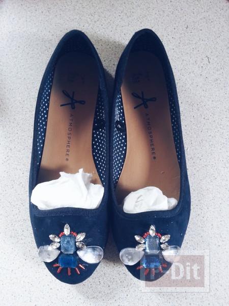 รูป 2 รองเท้าคัชชู ตกแต่งประดับลายสวย