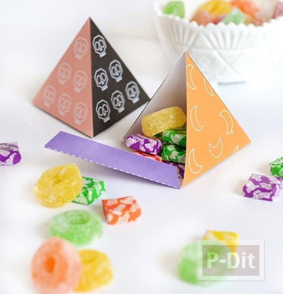 รูป 1 ไอเดียทำกล่องของขวัญ วันฮาโลวีน