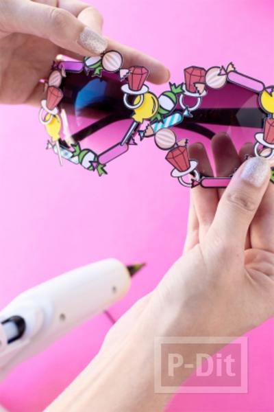 รูป 7 ตกแต่งแว่นตา รองเท้าคู่สวย วันฮาโลวีน