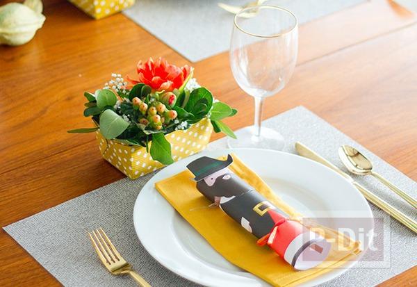 รูป 2 สอนจัดกระถางดอกไม้สวยๆ ประดับโต๊ะอาหาร