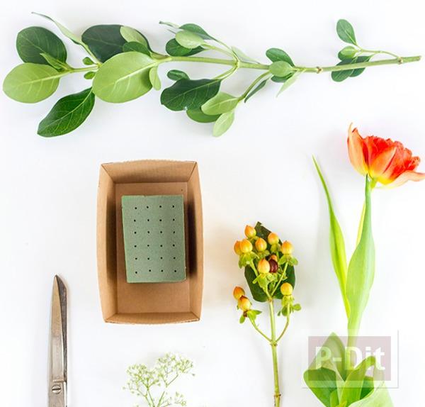 รูป 5 สอนจัดกระถางดอกไม้สวยๆ ประดับโต๊ะอาหาร