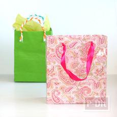 ไอเดียทำถุงกระดาษสวยๆ แบบง่ายๆ ทำเป็นถุงของขวัญ น่ารักๆ