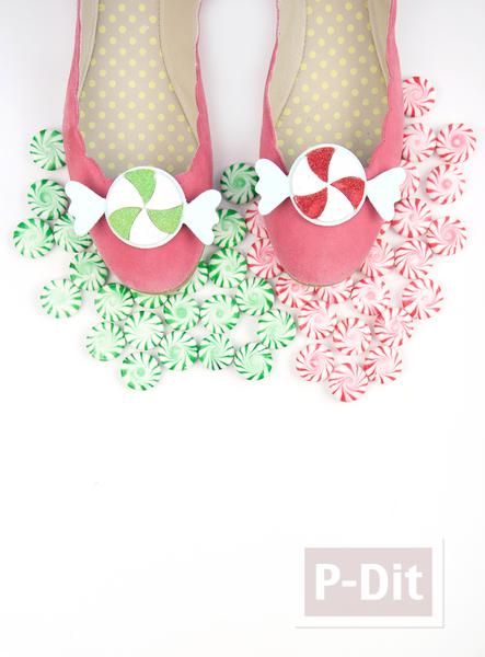 รูป 4 รองเท้าคัชชู ลายน่ารัก ใส่ปาร์ตี้งานเลี้ยง