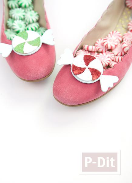 รูป 5 รองเท้าคัชชู ลายน่ารัก ใส่ปาร์ตี้งานเลี้ยง