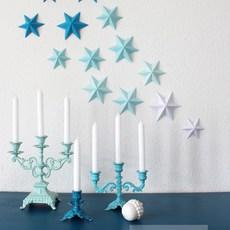 พับกระดาษรูปดาว สวยๆ ประดับบ้านงานปาร์ตี้
