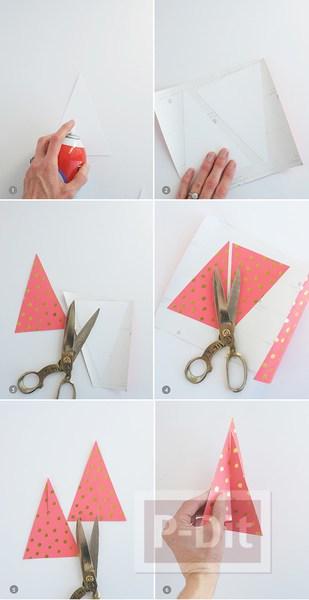 รูป 3 สอนทำต้นคริสต์มาส กระดาษสีสวย