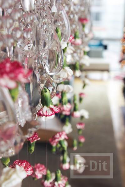 รูป 2 ตกแต่งบ้าน ดอกไม้สด สีสวย