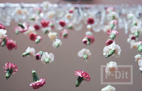 รูป 4 ตกแต่งบ้าน ดอกไม้สด สีสวย
