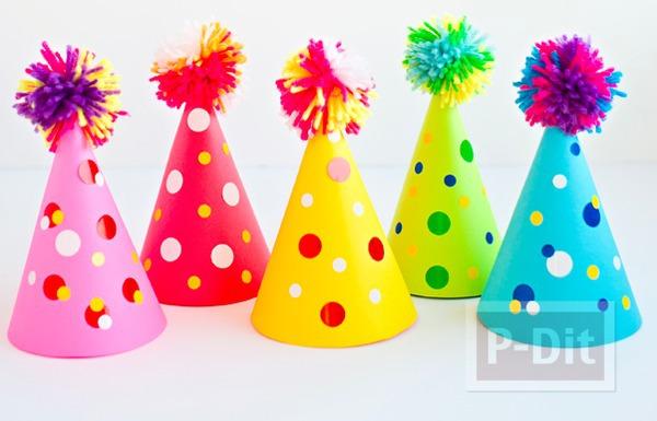 สอนทำหมวกกระดาษสีสด สวยๆ