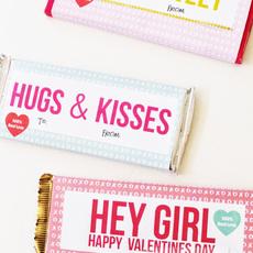ช็อคโกแลตน่ากิน ห่อกระดาษสีสวย ลายน่ารักๆ