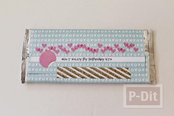 รูป 5 ช็อคโกแลตน่ากิน ห่อกระดาษสีสวย ลายน่ารักๆ