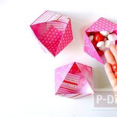 สอนพับกล่องลายสวย สามเหลี่ยม