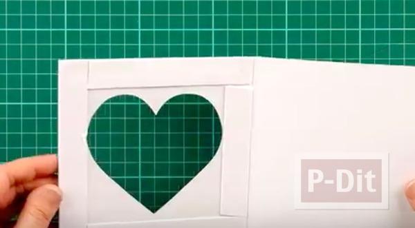 รูป 5 สอนทำการ์ด รูปหัวใจ น่ารักๆ
