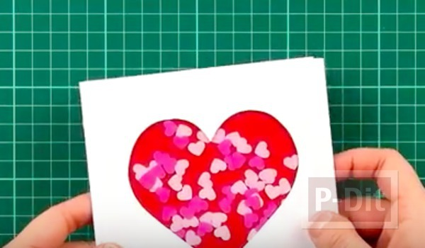 รูป 7 สอนทำการ์ด รูปหัวใจ น่ารักๆ