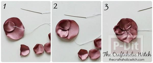 รูป 4 ดอกไม้ประดับเสื้อ ทำเอง แบบง่ายๆ