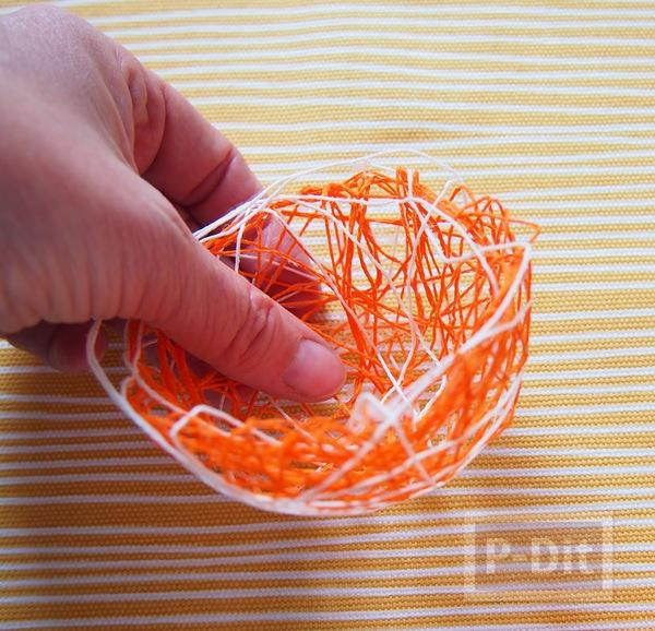 รูป 4 สอนทำรังนก รังไข่ จากเชือก