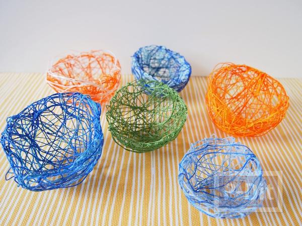 รูป 5 สอนทำรังนก รังไข่ จากเชือก