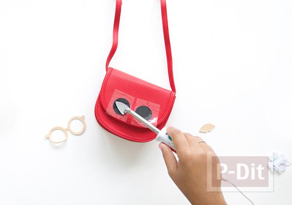 รูป 3 กระเป๋าลายน่ารัก ใส่แว่น
