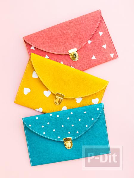 รูป 3 กระเป๋าน่ารักๆ ตกแต่งประดับลายสวยๆ
