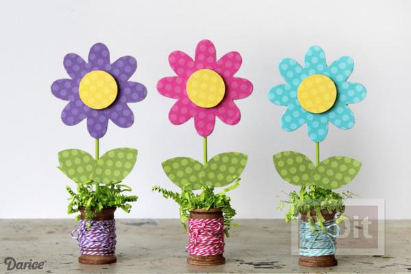 สอนทำดอกไม้ ตกแต่งโต๊ะทำงาน น่ารักๆ