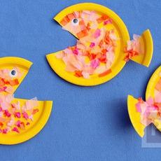 ปลาจานกระดาษ ทำเองแบบง่ายๆ