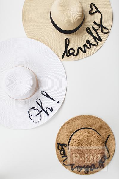 รูป 7 ตกแต่งหมวกใบสวย ด้วยริบบิ้น