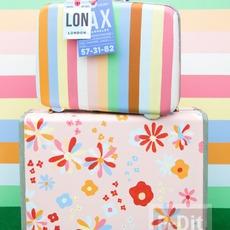 กระเป๋าเดินทางใบเก่า ทาสีใหม่ สดใส น่าใช้