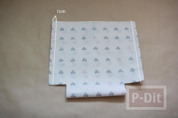 รูป 4 สอนเย็บถุงผ้า ลายสวย ใส่ของกระจุกกระจิก