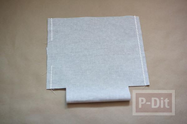 รูป 6 สอนเย็บถุงผ้า ลายสวย ใส่ของกระจุกกระจิก