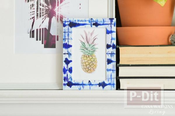 รูป 1 กรอบรูปสวยๆ ระบายสีด้วยสีน้ำ