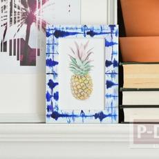 กรอบรูปสวยๆ ระบายสีด้วยสีน้ำ