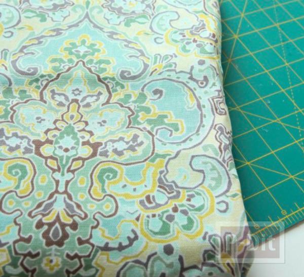รูป 7 เบาะรองเก้าอี้ ทำจากฟองน้ำ หุ้มผ้า ลายสวย