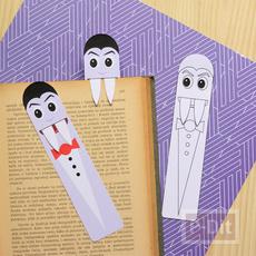 ที่คั่นหนังสือ แวมไพร์น่ารักๆ