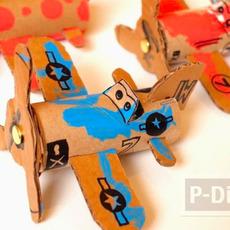ไอเดียทำเครื่องบินของเล่น จากแกนกระดาษทิชชู