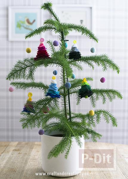 ต้นคริสต์มาส ต้นเล็กๆประดับ เทศกาลคริสต์มาส