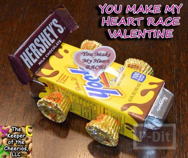 ไอเดียทำของขวัญ รถช็อคโกแลต ส่งรัก