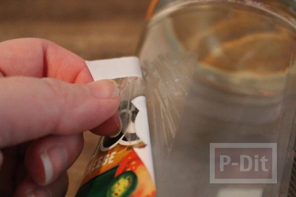 รูป 2 แจกัดขวดแก้วเก่าๆ ระบายสีใหม่ กระต่ายน่ารัก