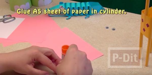 รูป 2 สอนทำช้างกระดาษ น่ารักๆ จากกระดาษ A5