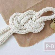 สอนทำพวงกุญแจ จากเชือกเส้นเล็กแบบง่ายๆ พันลายสวย