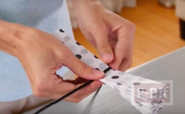 รูป 6 คลิปสอนทำโบว์กระดาษ ตกแต่งกล่องของขวัญ