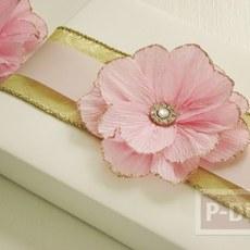 สอนทำดอกไม้ กระดาษย่น ประดับกล่องของขวัญ